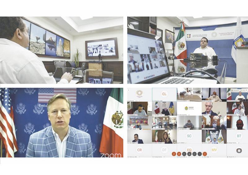 Reunión de Conago con Embajador de Estados Unidos en México