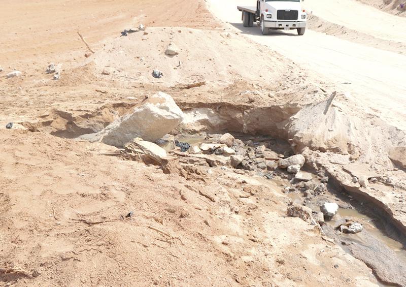 Atiende Oomsapaslc derrame de aguas negras en la Nicolás Tamaral