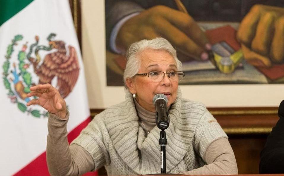 Reitera Sánchez Cordero postura contra criminalización del aborto