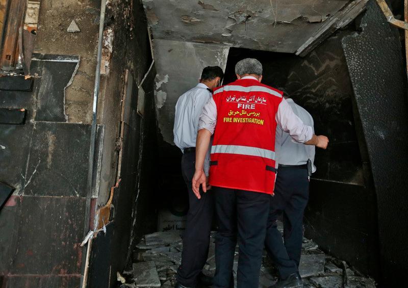 Explosión Irán