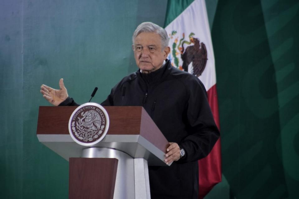AMLO en conferencia de prensa