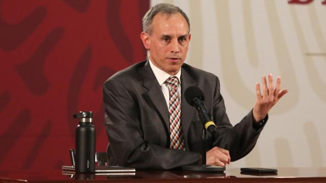 Hugo López-Gatell en conferencia de prensa del 10 de julio