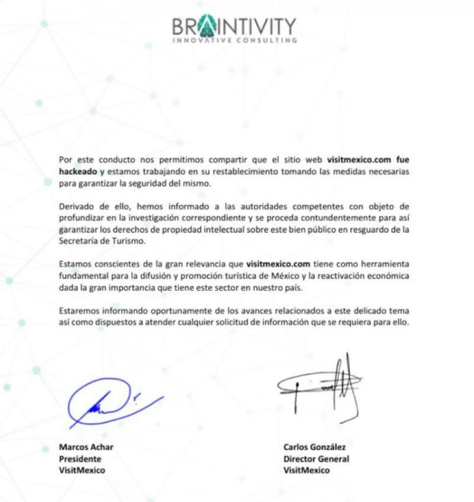 Carta de brainvity