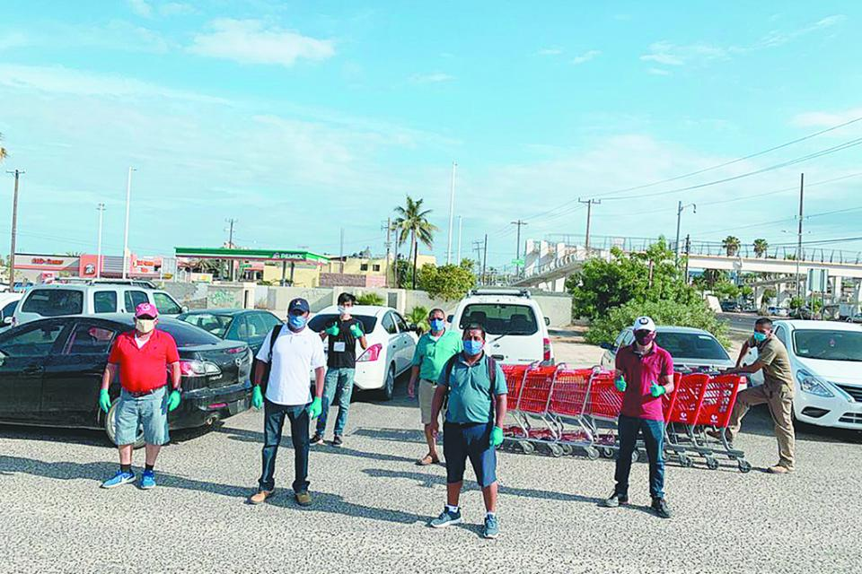Continúan entrega gratuita de cubrebocas en Los Cabos