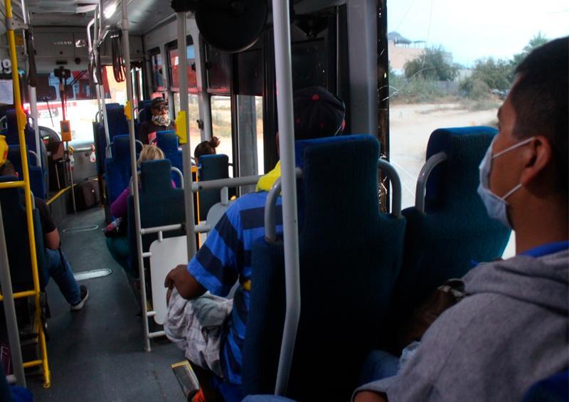 Transportistas queja de usuarios en protocolos de sanidad