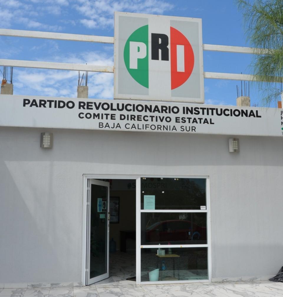 Oficinas del PRI en BCS