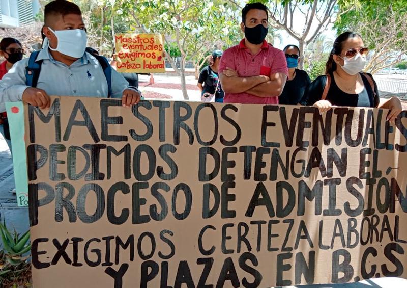 Congreso Maestros protestas