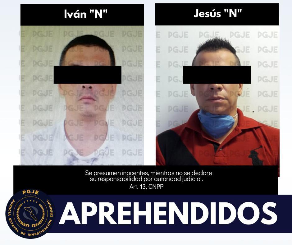 Ivan N y Jesús N detenidos por presunto homicidio