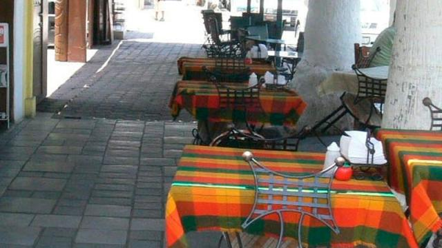 Mesas Restaurante La Paz