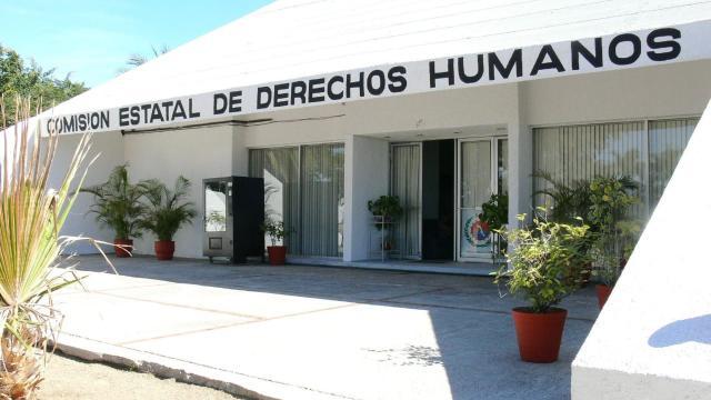 Instalaciones de la Comision Estatal de Derechos Humanos en La Paz