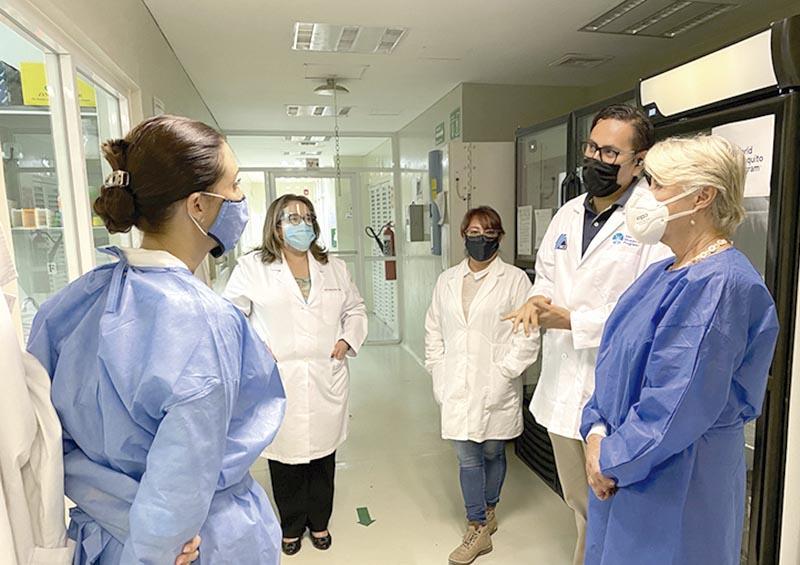 Recibe Laboratorio Estatal de Salud Pública donación de insumos