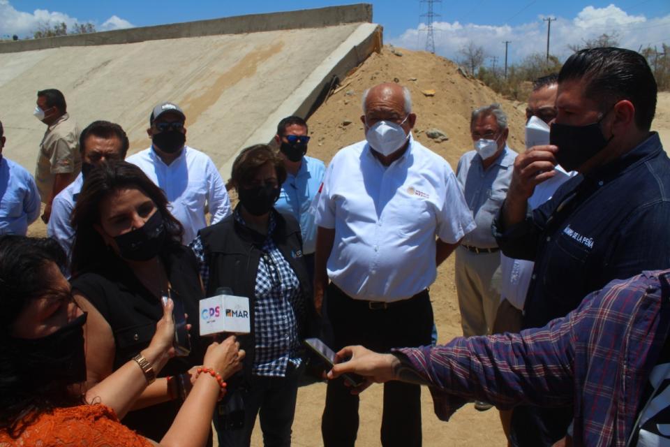 Directora general de Conagua realiza recorrido por varias obras
