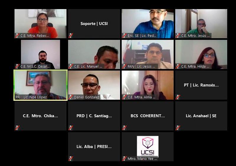 Sesión virtual IEE