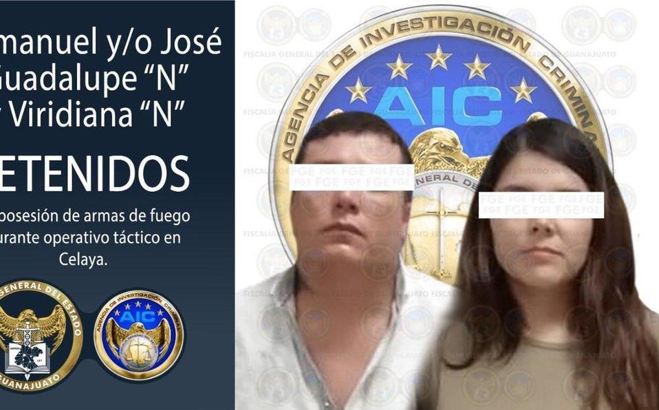 Dos detenidos en guanajuato