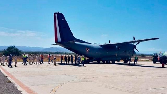 Avión Fuerza Aérea Mexicana