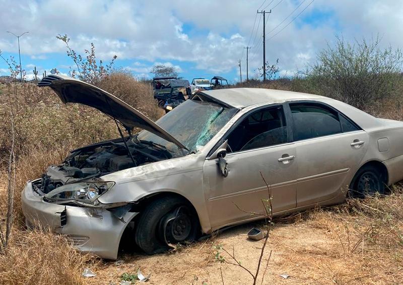 Carro choca Los Cabos