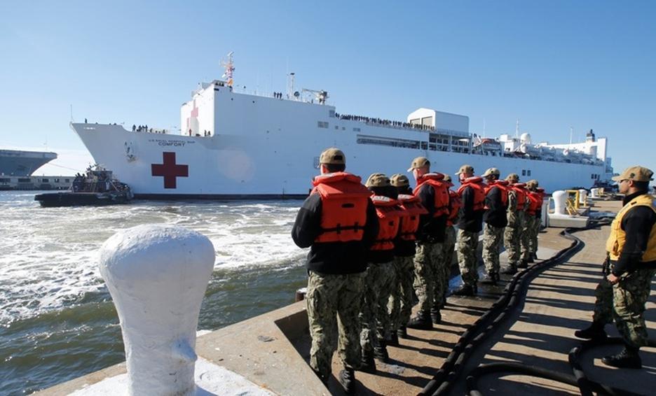 Asaltan un barco hospital humanitario en Colombia