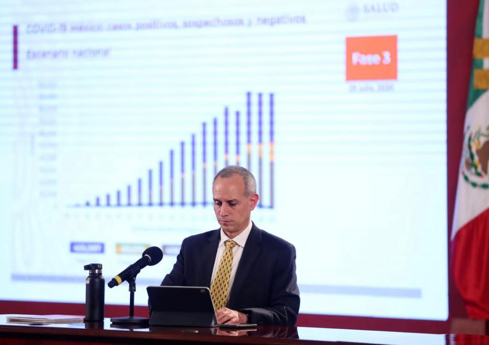 México suma 408 mil contagios y 45 mil decesos por Covid
