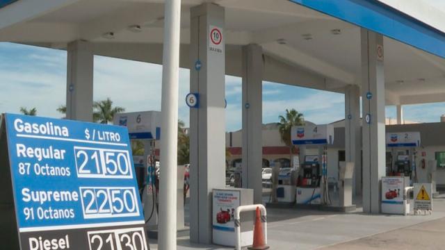 muy altas las subidas de gasolinas