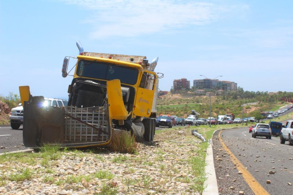 Accidente en Corredor Turístico