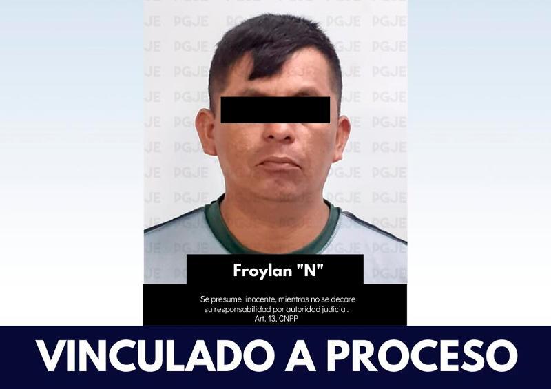 """Froylan """"N"""" deberá responder ante la autoridad judicial"""