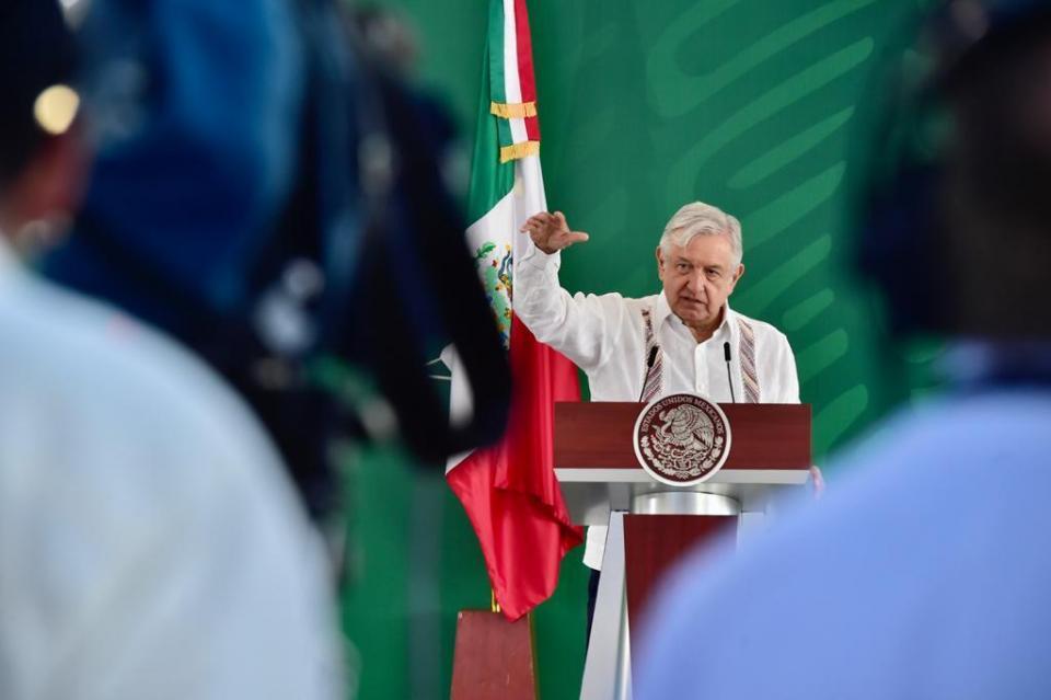 AMLO en conferencia de prensa desde Los Cabos