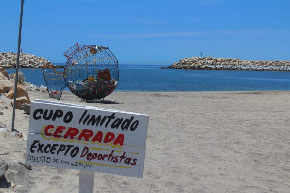 Playa en San José del Cabo