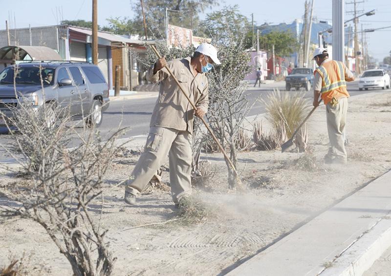Refuerzan trabajos de limpieza y mantenimiento de calles cabeñas