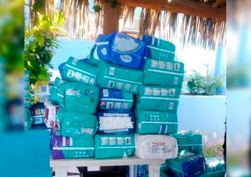 Piden apoyo con donaciones de pañales para niños y adultos