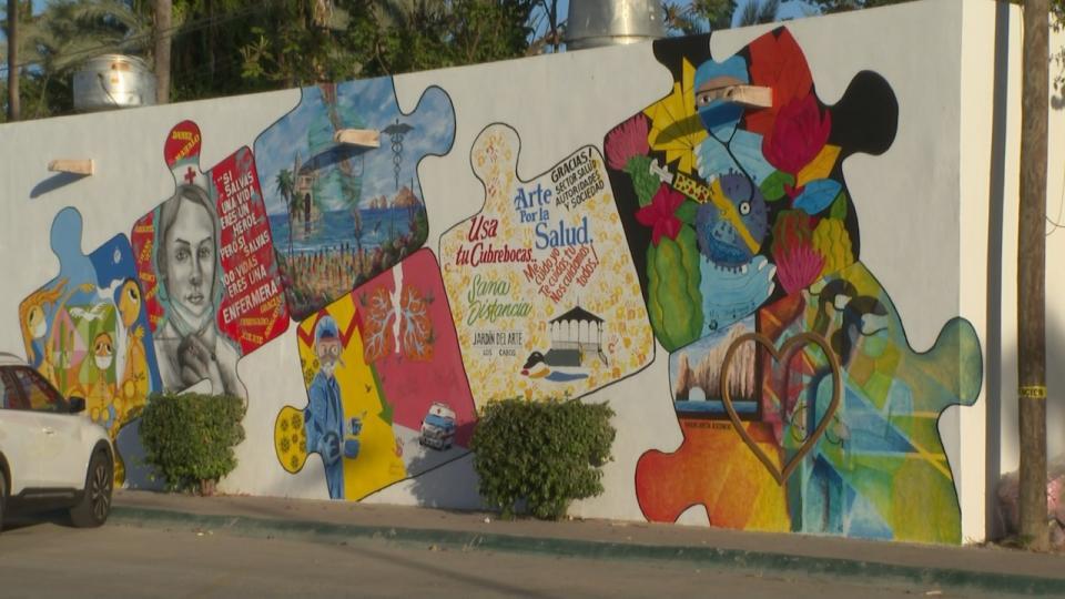 Mural en Los Cabos