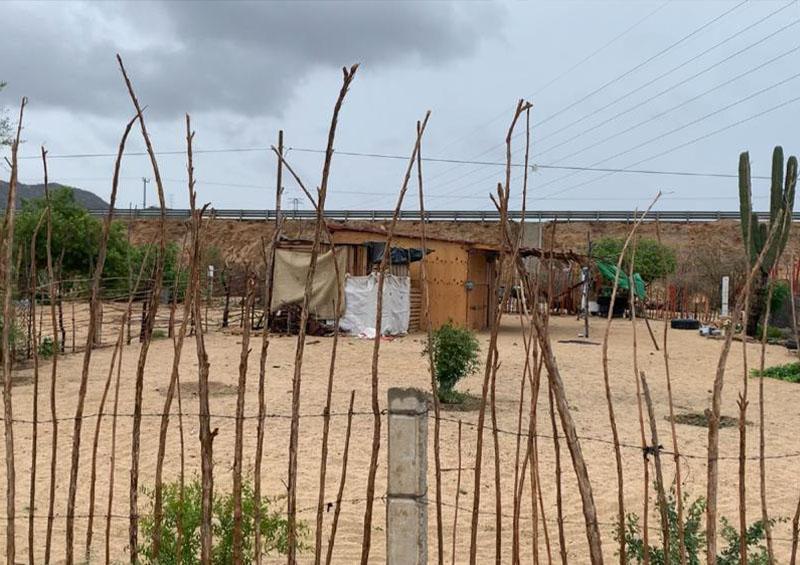 Algunos habitantes en zona de riesgo deciden no dejar sus casas