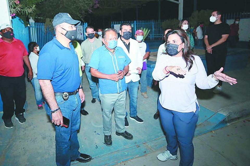 Habilitados 19 refugios temporales en LC: Alcaldesa