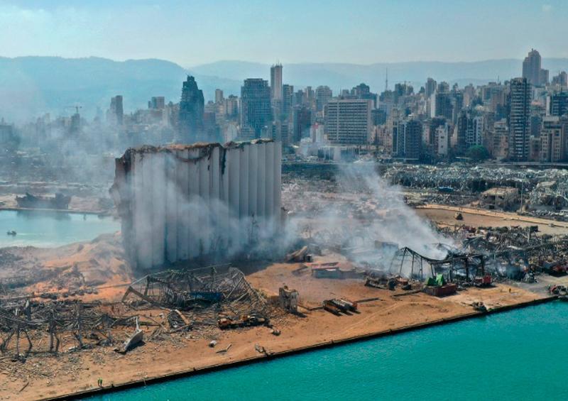 Explosiones Líbano