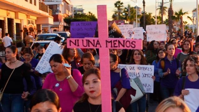 Manifestación La PAZ