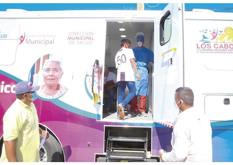 """Continúa  """"Caravana de Salud Municipal""""  recorriendo Los Cabos"""