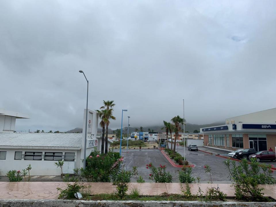 Cielo nublado en Cabo San Lucas