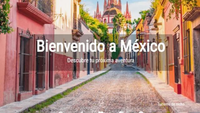 Presentan nueva plataforma de Presentan nueva plataforma VisitMéxico, sin embargo el sitio sigue sin estar disponible