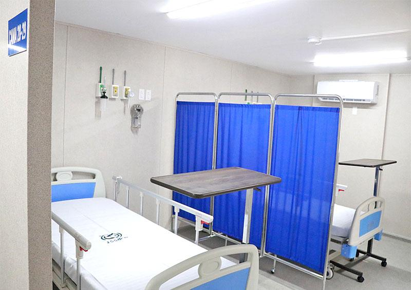 Refuerza a BCS reconversión hospitalaria por Covid