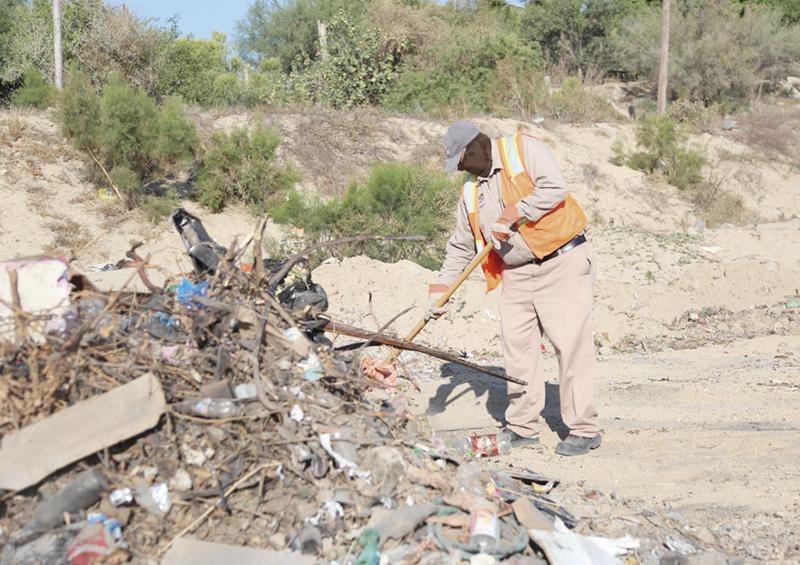 Retiran más de 400 toneladas de basura de zonas de arroyo