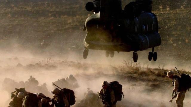 Desembarco de militares de EE.UU.