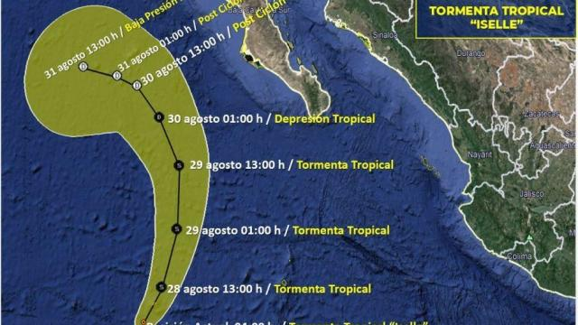 Tormenta Tropical Iselle