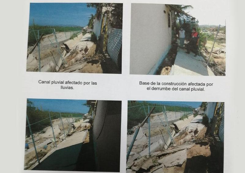 Posible derrumbe en Altamira