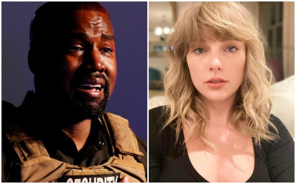 Kayne West promete ayuda a Taylor Swift