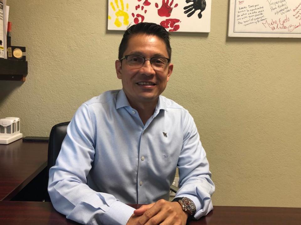 Armando Espino, presidente de la Asociación de Ejecutivos de Recursos Humanos de Los Cabos.