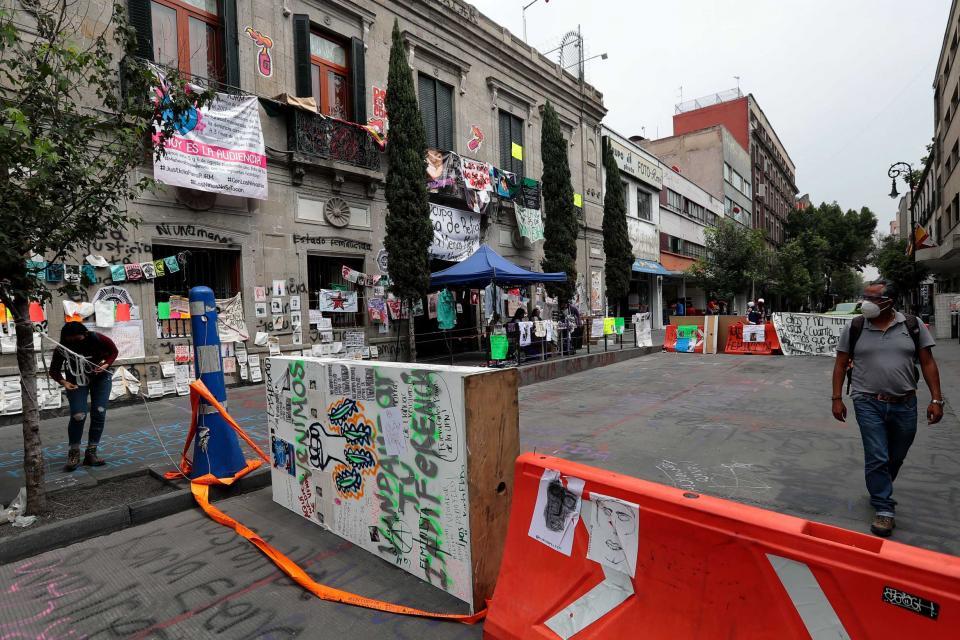 Protestas CNDH