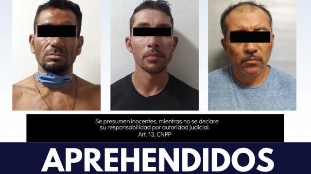 Por diversos delitos son aprehendidos 4 sujetos