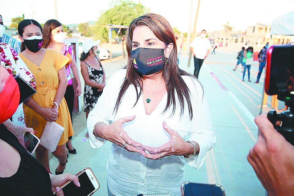 Productiva la visita de Conagua: Armida Castro