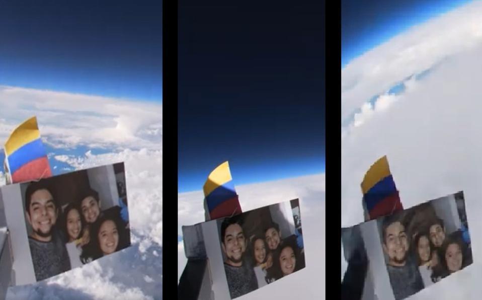 Realiza captura imágenes de la Tierra en sonda espacial