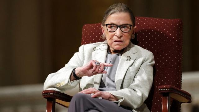 Muerte de Ruth Bader Ginsburg