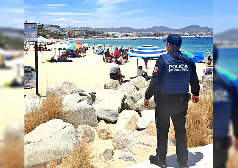 Positiva fase 4 de Alerta Sanitaria: Policía de Los Cabos